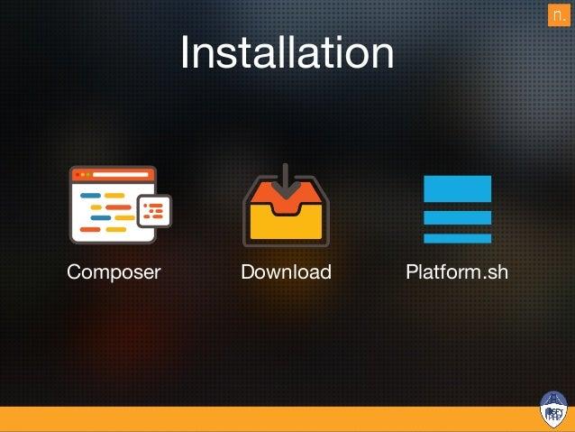 Composer install $ curl -sS https://getcomposer.org/installer | php $ docker run --rm --p 3333:3306 --name ezdbcontainer -...