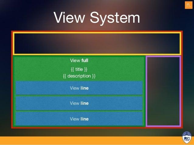 View System {{ title }} {{ description }} View line View line View line view block view block view block View full