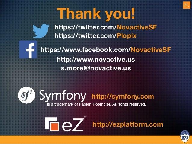 Unleash your Symfony projects with eZ Platform