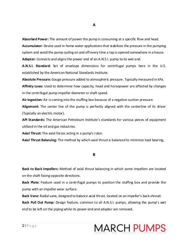 american petroleum institute glossary terms