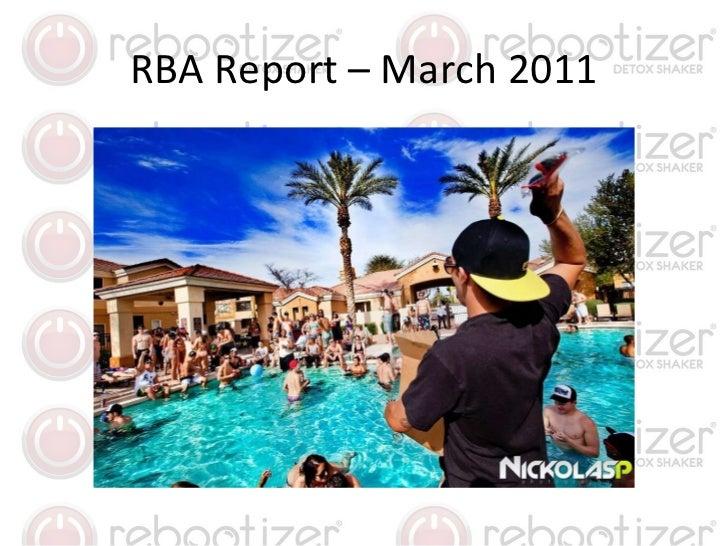 RBA Report – March 2011