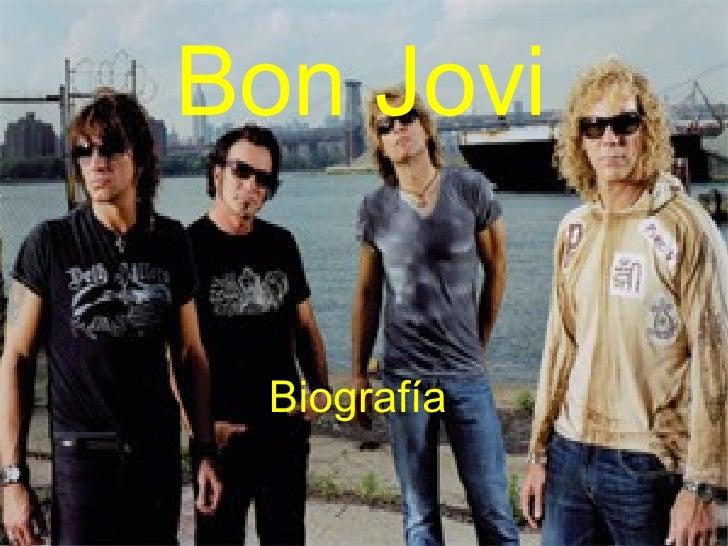 Biografía Bon Jovi