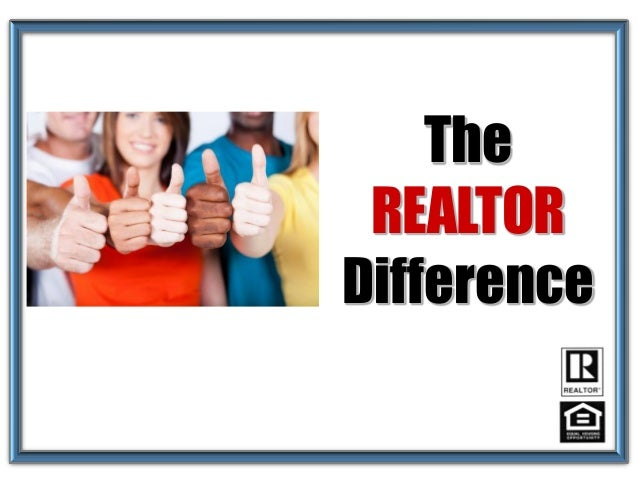 The REALTOR Difference