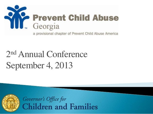 2nd Annual Conference September 4, 2013