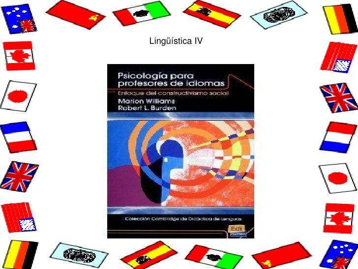 Lingüística IV