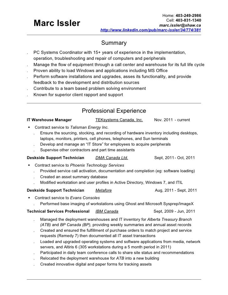 Contemporary Talisman Energy Resume Model - Administrative Officer ...