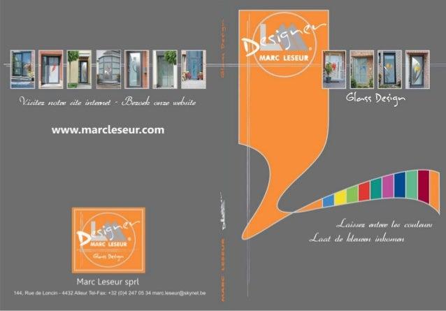 Marc Leseur - Vitrages décoratifs