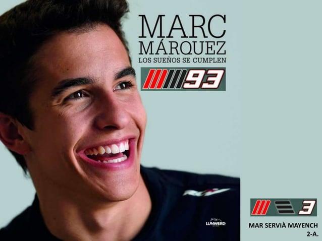 Presentació Marc marquez per la Classe de la Mar.