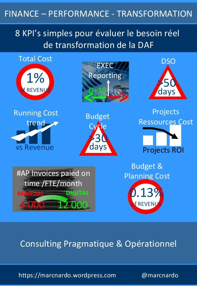 Consulting Pragmatique & Opérationnel FINANCE – PERFORMANCE - TRANSFORMATION Budget & Planning Cost 0.13% of REVENUE EXEC ...