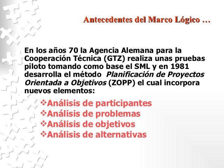 Marco Logico Slide 3