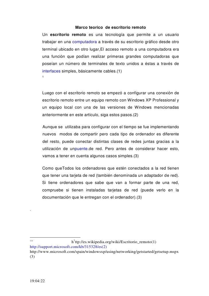 Marco Teorico De Escritorio Remoto Lozano 1102[1]