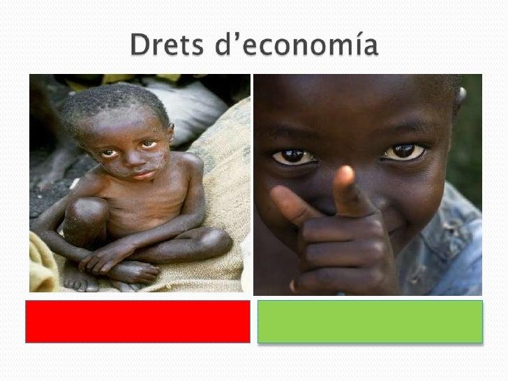 Dretsd'economía<br />        x<br />