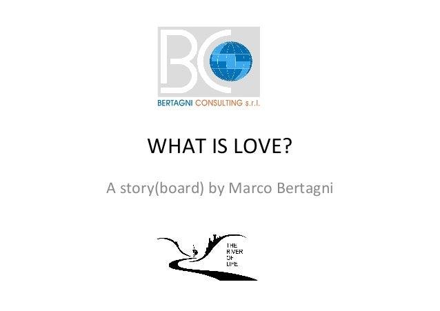 WHATISLOVE? Astory(board)byMarcoBertagni
