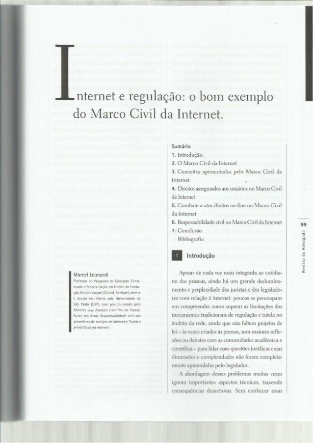 internet e regulação