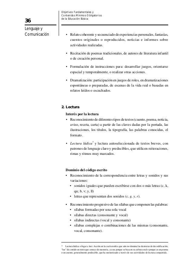 Marco curricular decreto n232