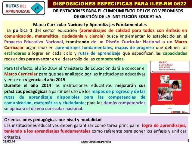 Marco curricular 2014 for Diseno curricular del nivel inicial 2016
