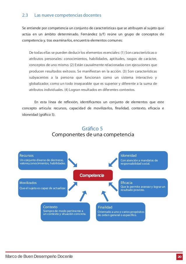 2.3 Las nueve competencias docentes Se entiende por competencia un conjunto de características que se atribuyen al sujeto ...