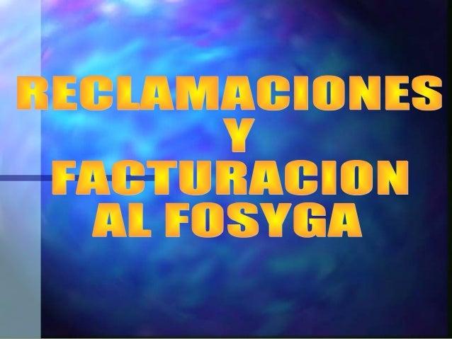 ANTECEDENTANTECEDENT ES DELES DEL FOSYGAFOSYGA