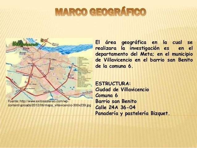 El área geográfica en la cual se                                                         realizara la investigación es    ...