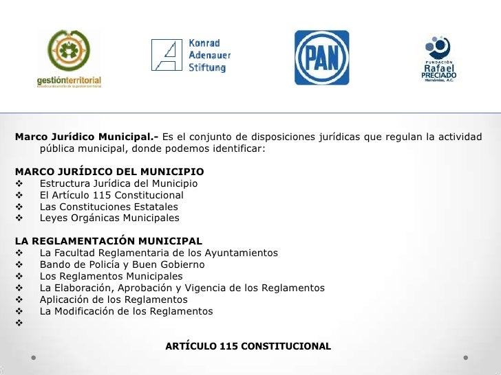 Marco Juridico Municipal