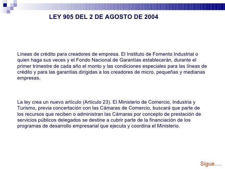 Marco Legal A La Creacion De Empresas En Colombia