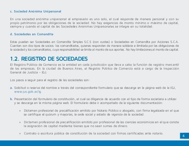 Marco Legal Argentina