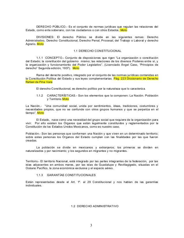 DERECHO PÚBLICO.- Es el conjunto de normas jurídicas que regulan las relaciones del Estado, como ente soberano, con los ci...