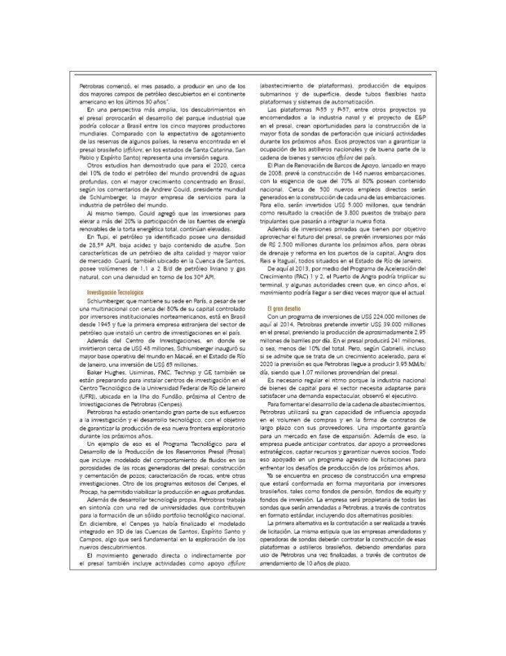 Marco Legal Pre-Sal Brasil Slide 2