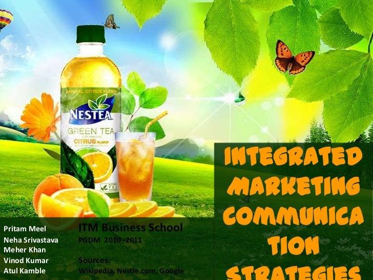 Integrated                                                  MarketingPritam Meel       ITM Business School                ...