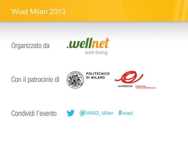 il postino di Neruda e il design. Un case study di mobile banking - WIAD 2013 (Milan) Slide 2
