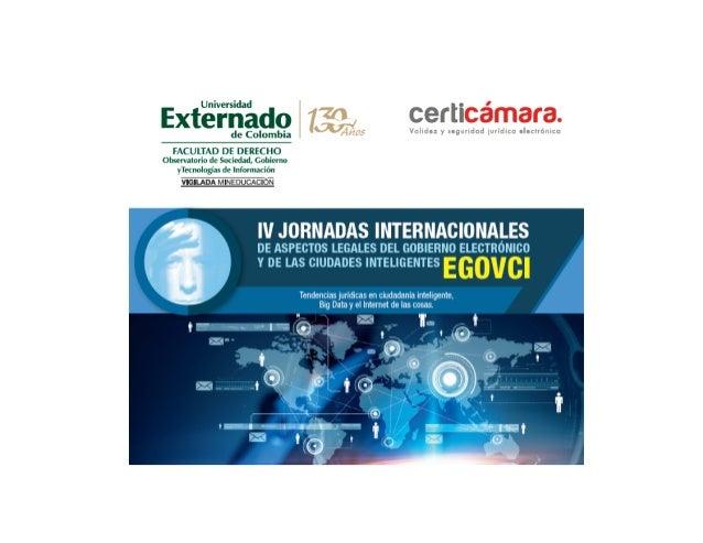 Tendencias normativas en materia de ciudadania inteligente Marco Peres www.observatics.edu.co