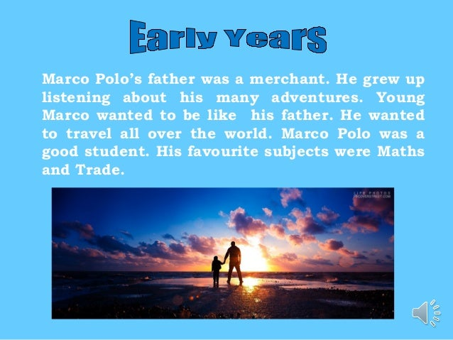 Marco polo essay introduction