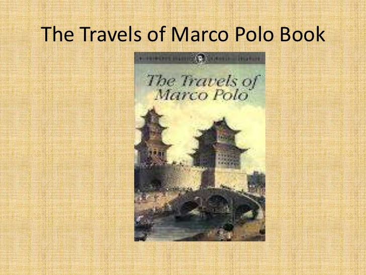 Marco Polo Travels Book Online