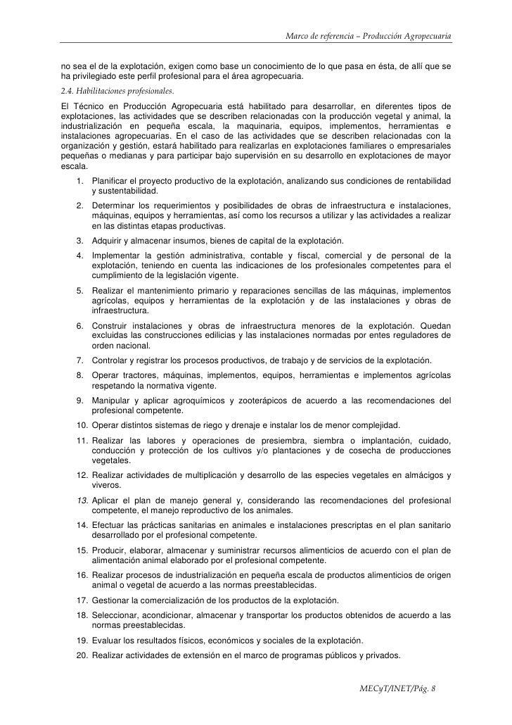 Marco referencialsecundarioproduccion agropecuaria