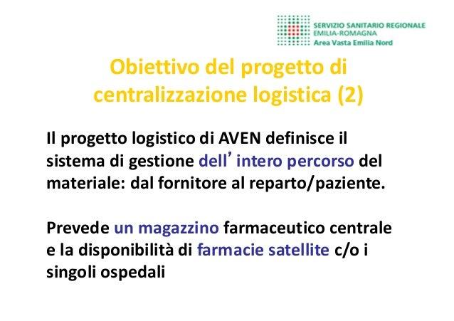 Il progetto logistico di AVEN definisce il sistema di gestione dell''''intero percorso del materiale: dal fornitore al rep...