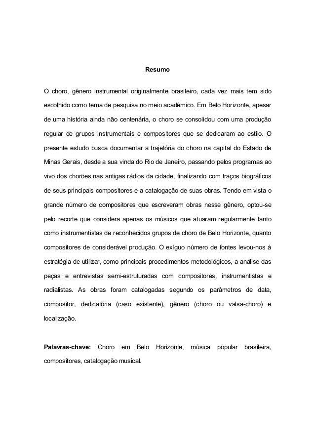 c4db4054441 O choro em Belo Horizonte