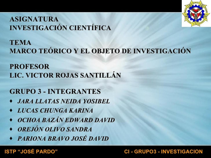 <ul><li>GRUPO 3 - INTEGRANTES </li></ul><ul><li>JARA LLATAS NEIDA YOSIBEL </li></ul><ul><li>LUCAS CHUNGA KARINA </li></ul>...