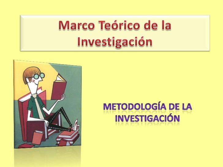 Marco Teórico de la Investigación• Importancia• Función• Etapas