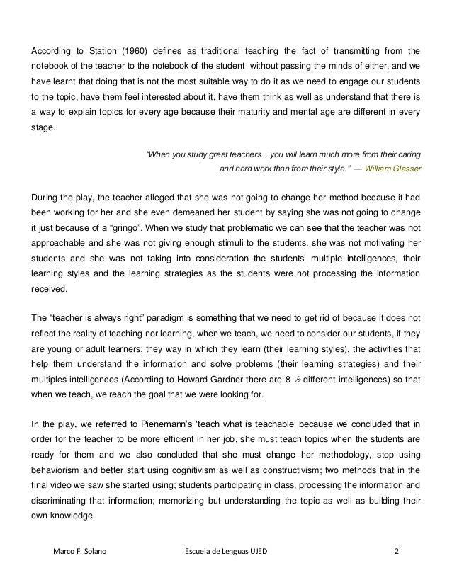 Marcus-final essay Slide 2