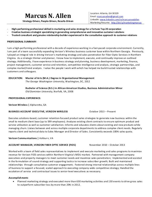 marcus allen marketing resume 1