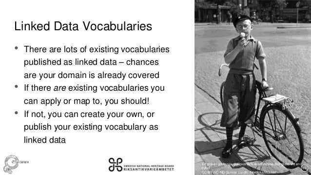 Marcus smith –  Linked Data Vocabularies for Heritage Data Slide 2