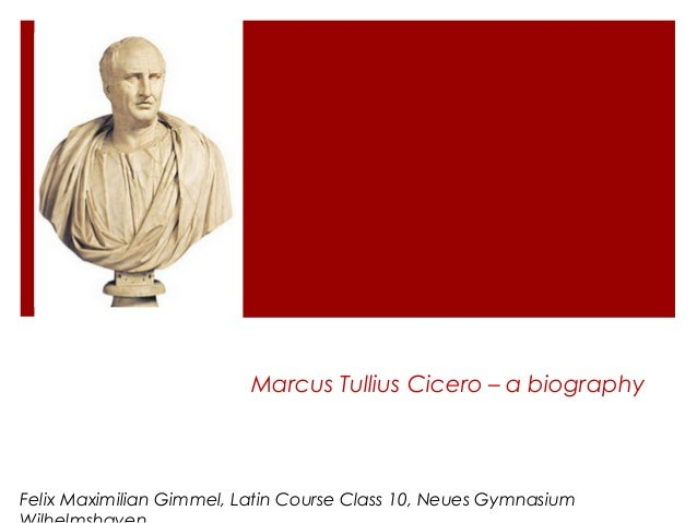 biography of cicero Cicero, code name of elyesa bazna, an albanian who spied for germany in world war ii andrea lo cicero (born 1976), italian rugby player chic cicero (born 1936.