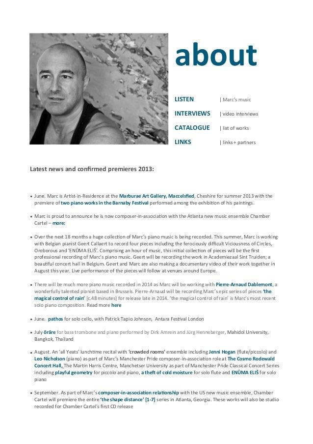 marc yeats linked cv biography 2013