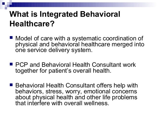 the role of telebehavioral health services in an