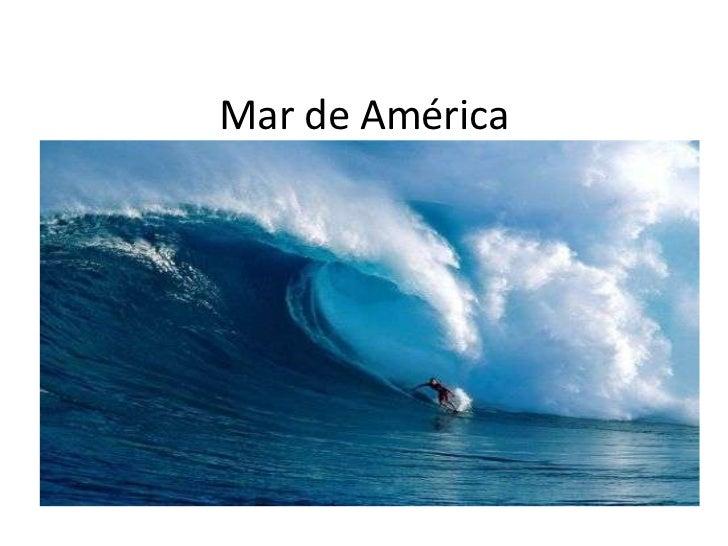 Mar de América