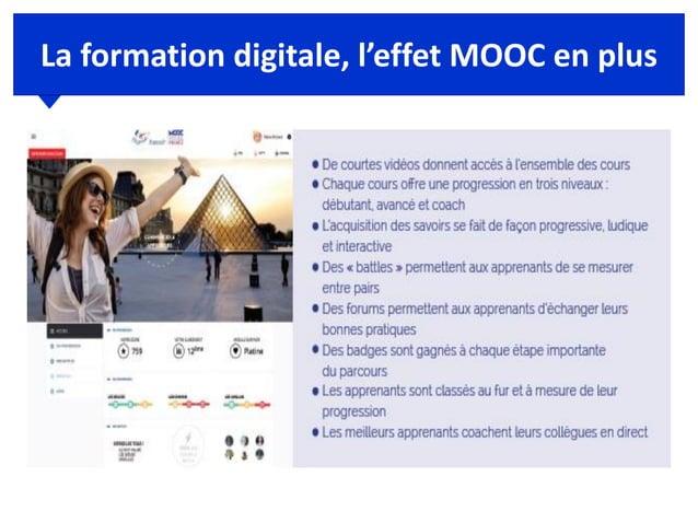 La formation digitale, l'effet MOOC en plus