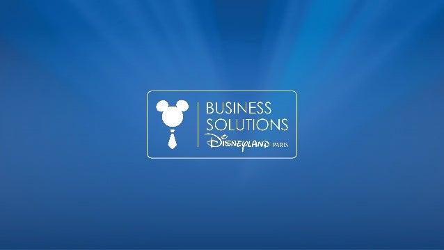 Nicolas Dupeux Directeur Business Solutions DISNEYLAND® PARIS
