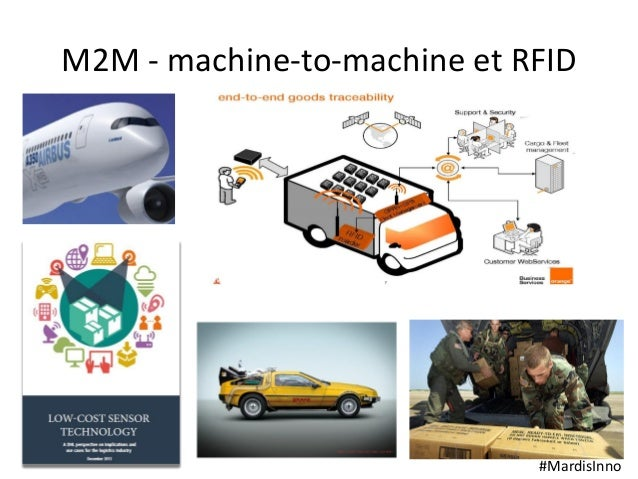 #MardisInno M2M - machine-to-machine et RFID