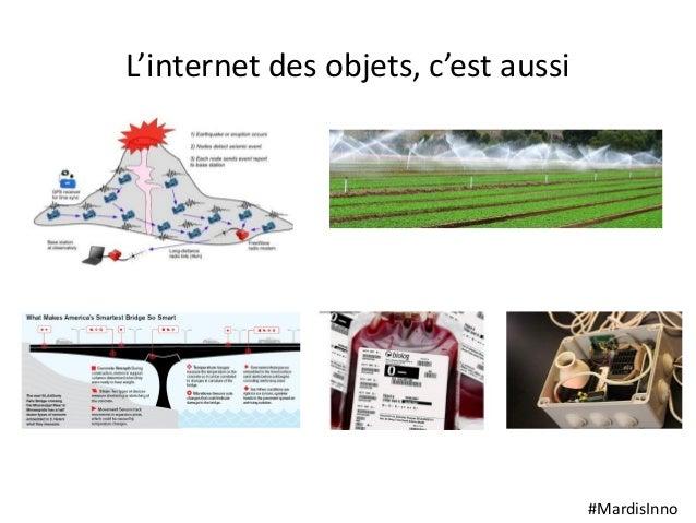 #MardisInno L'internet des objets, c'est aussi