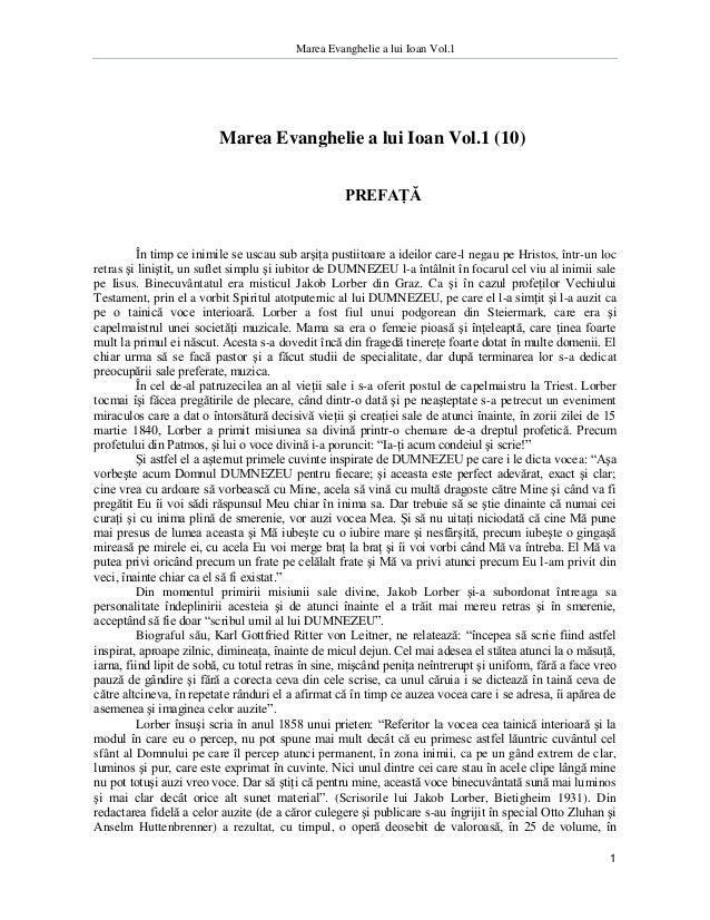 Marea Evanghelie a lui Ioan Vol.1                         Marea Evanghelie a lui Ioan Vol.1 (10)                          ...